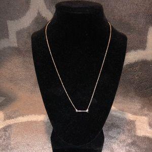 Dainty arrowhead necklace